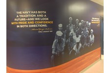 - Custom Graphics - Custom Wallpaper - Navy Exchange Whidbey Island - Oak Harbor, WA